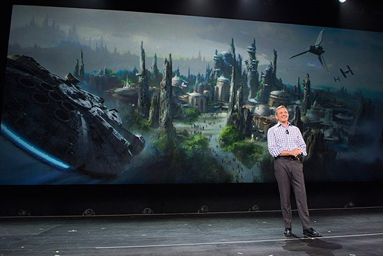 Star Wars Land Announcemen