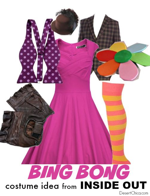 Bing Bong Costume Idea from Inside Out Movie