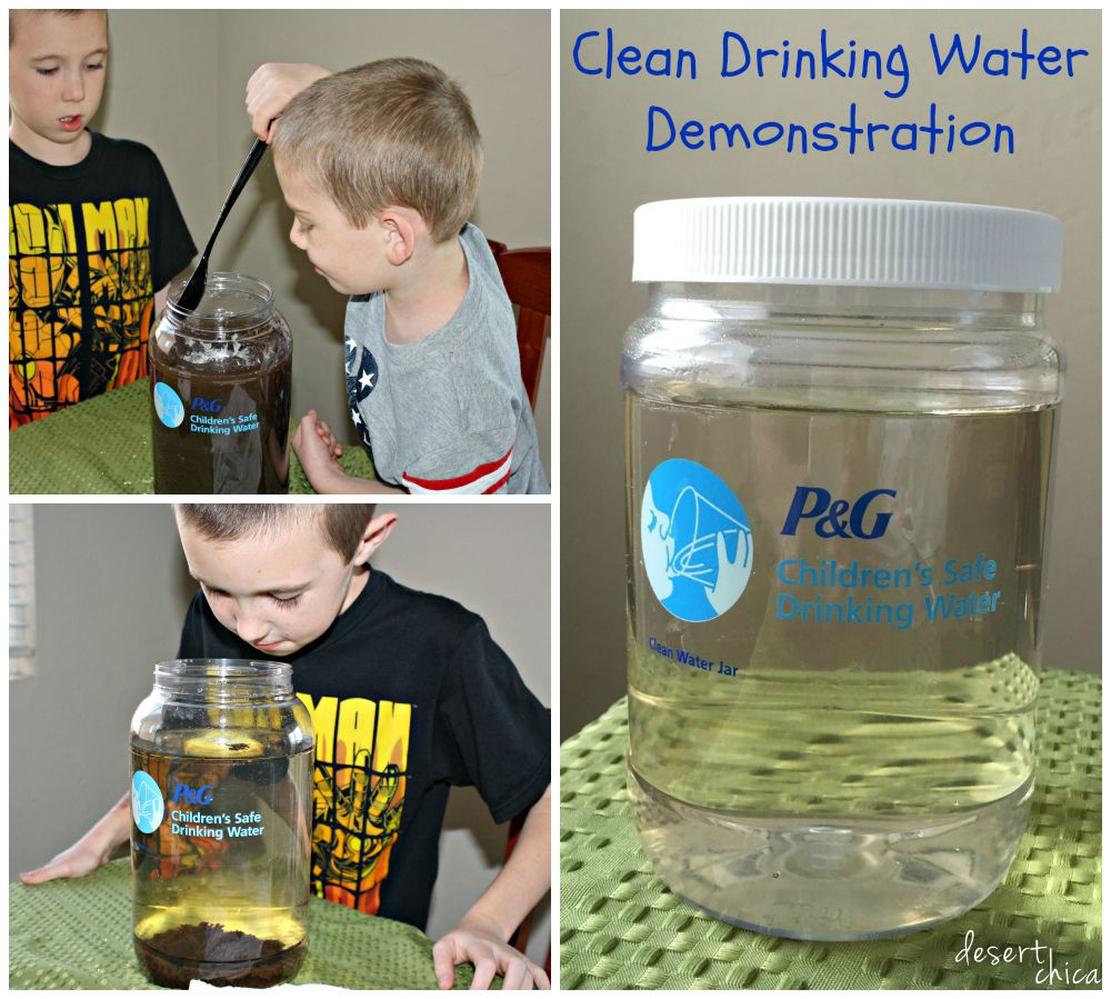Clean Drinking Water Demonstration