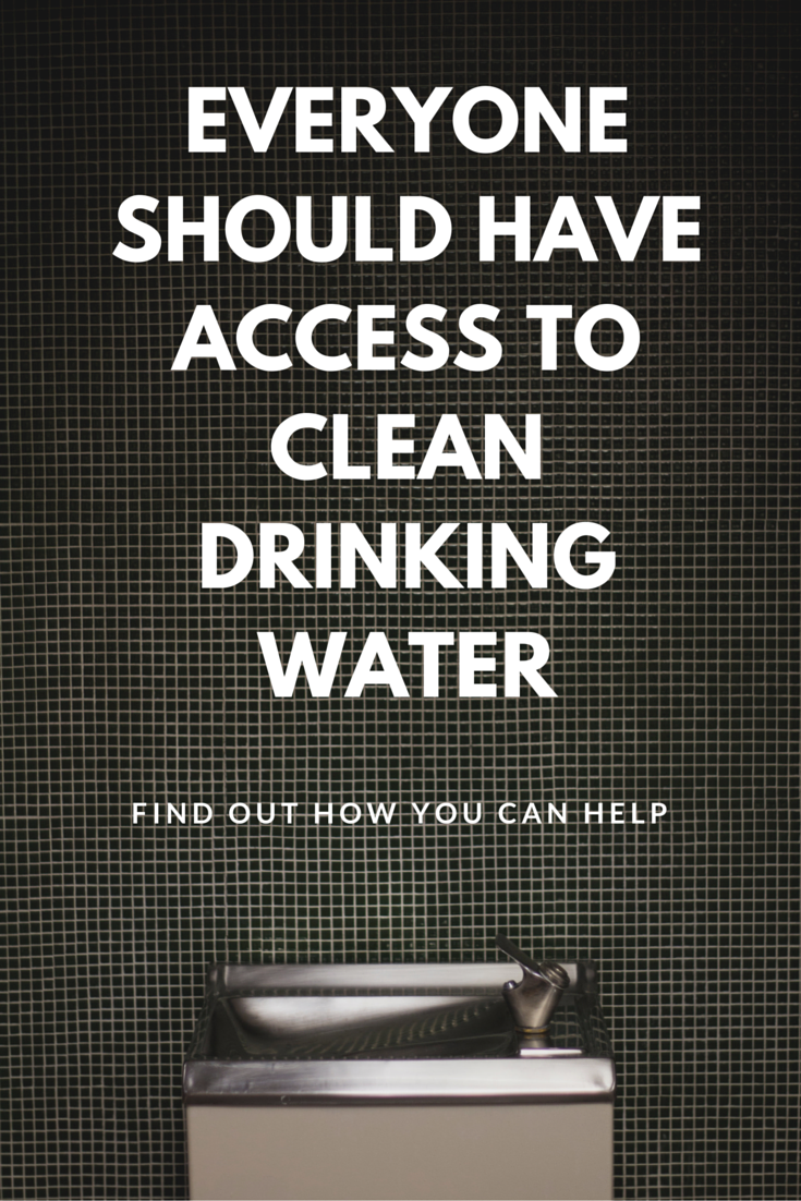 Clean Drinking Water Fountain