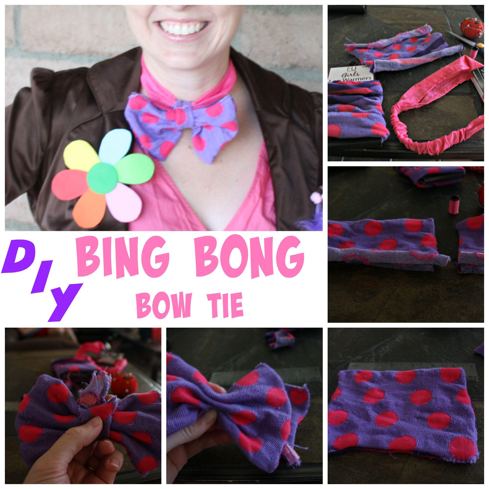 DIY Bing Bong Bow Tie