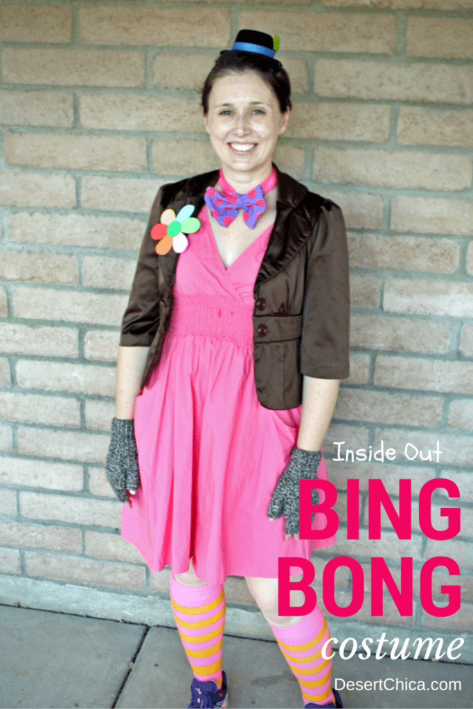 DIY Bing Bong Costume - Inside Out DIY Family Costumes