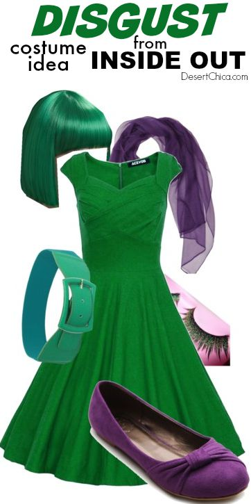 Disgust from Inside Out costume Idea