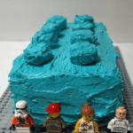 Easy LEGO Cake Idea