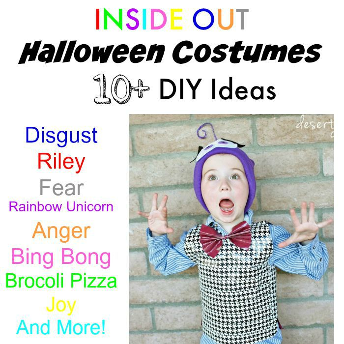 Inside Out Costume Ideas Desert Chica