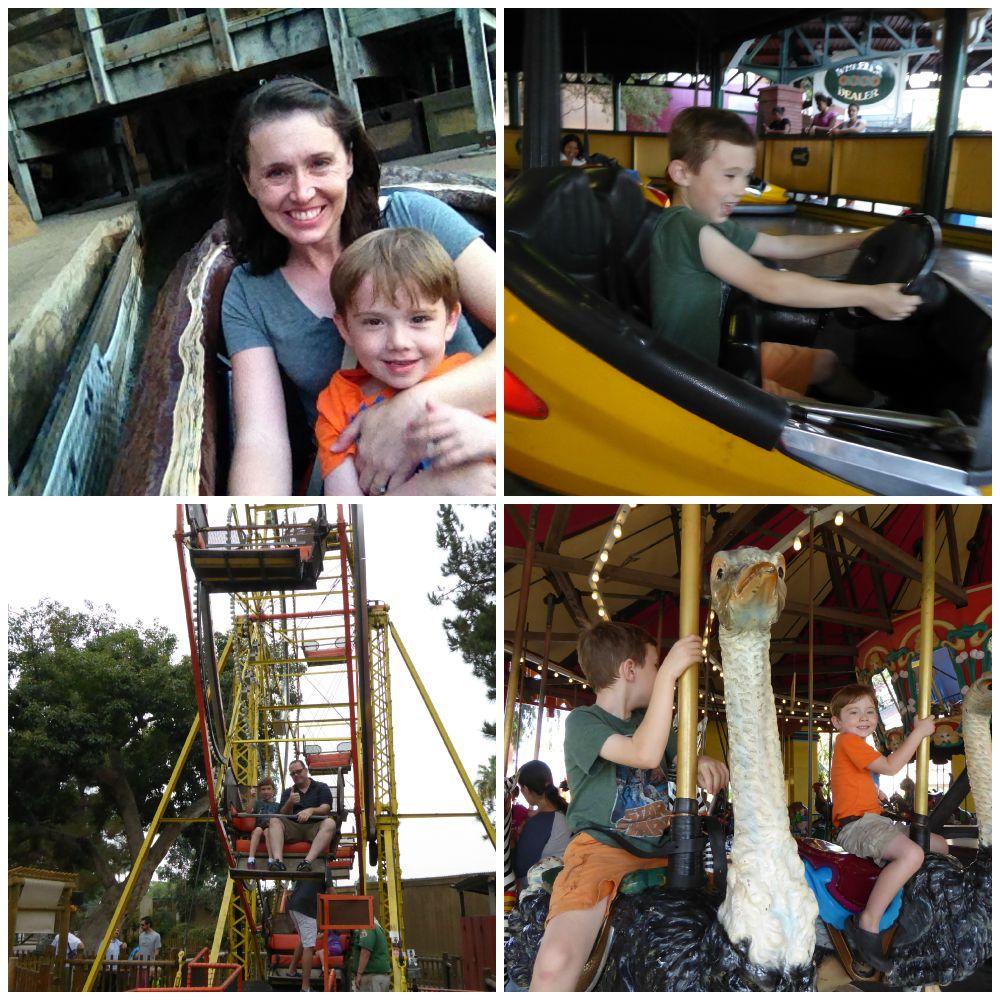 Nostalgic Rides at Knott's Berry Farm