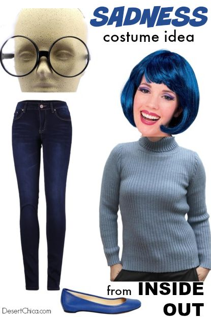 Sadness Costume Idea from Inside Out