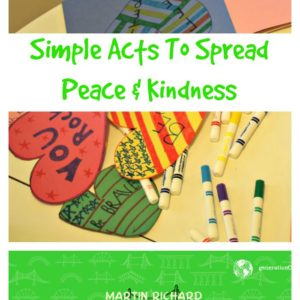 Simple Acts To Spread Kindness #NoMoreHurtingPeople