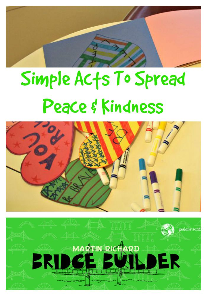 Simple Acts to Spread Peace and Kindness
