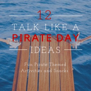 Pirate Activities for Talk Like A Pirate Day