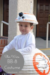 DIY Star Wars BB-8 Costume