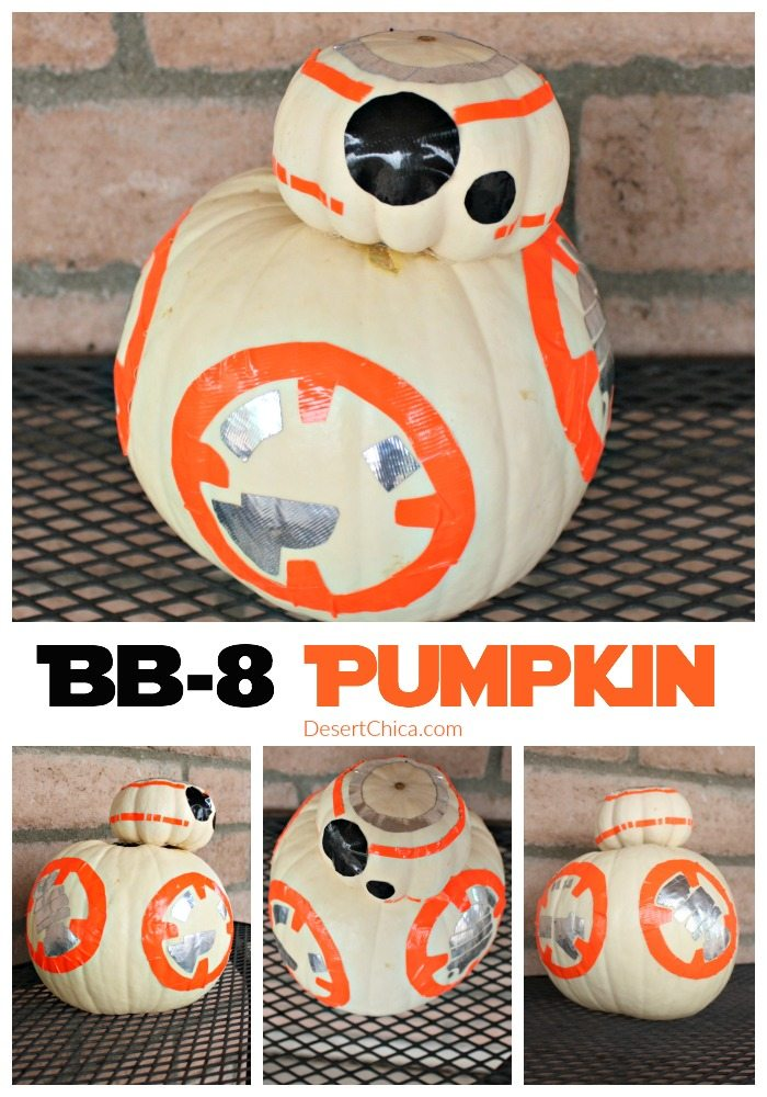 DIY Star Wars BB-8 Pumpkin