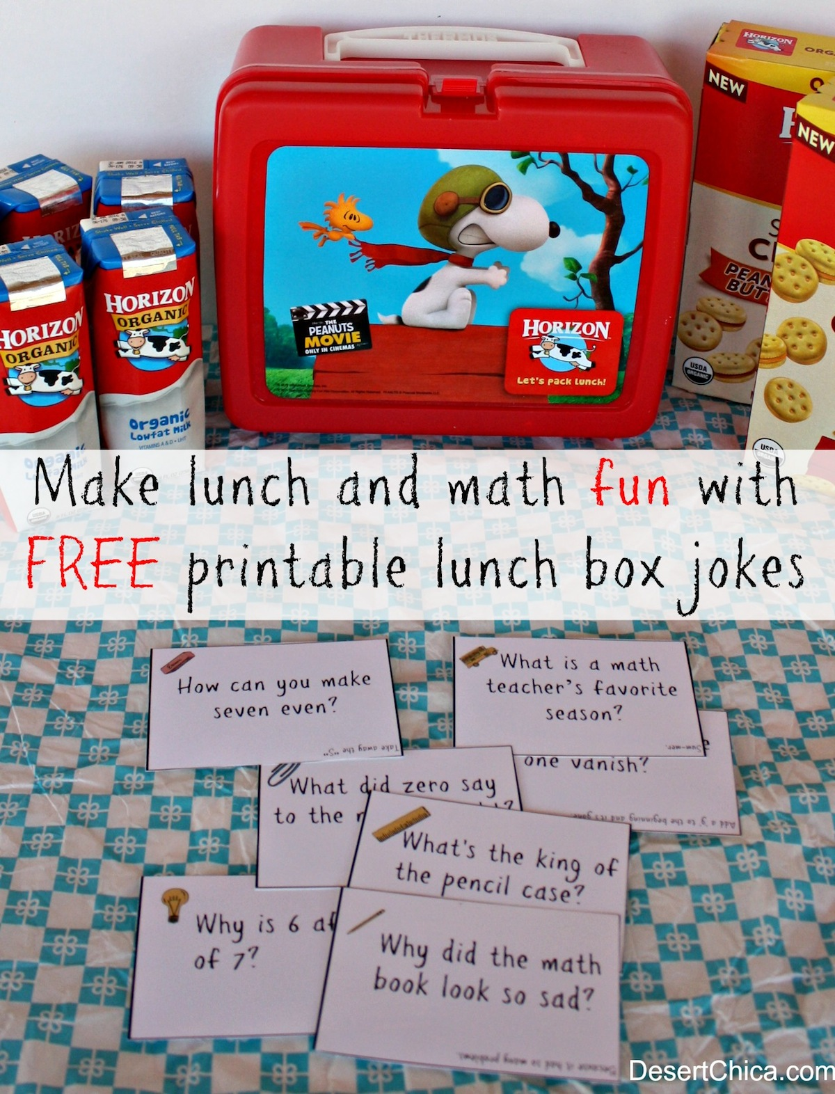 Free Math Lunch Box Jokes