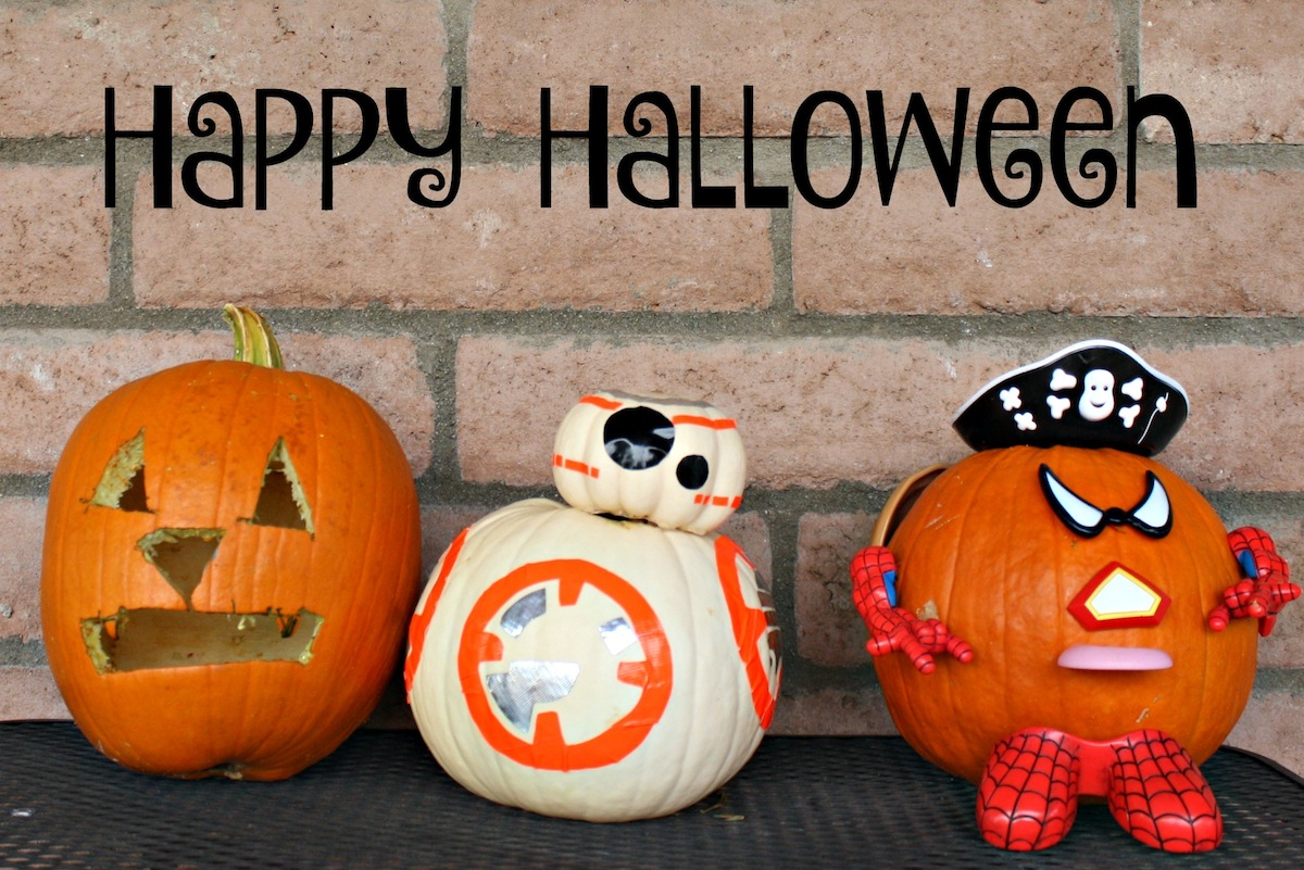 Happy Halloween from BB-8 and Friends