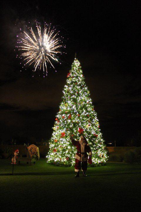 Santa Fireworks
