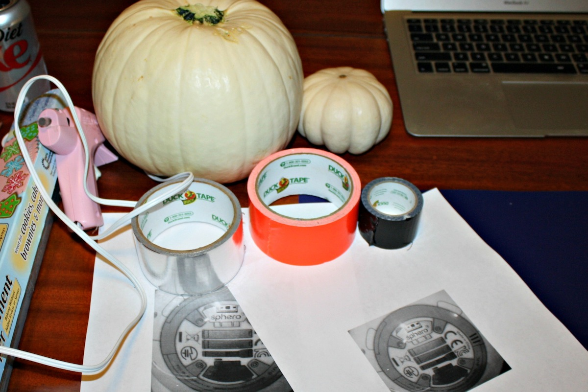 Star Wars BB-8 Pumpkin Supplies