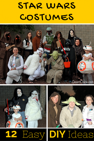 DIY Star Wars Costume Ideas