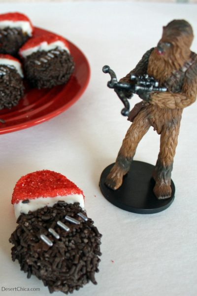 Santa Chewbacca Cookies