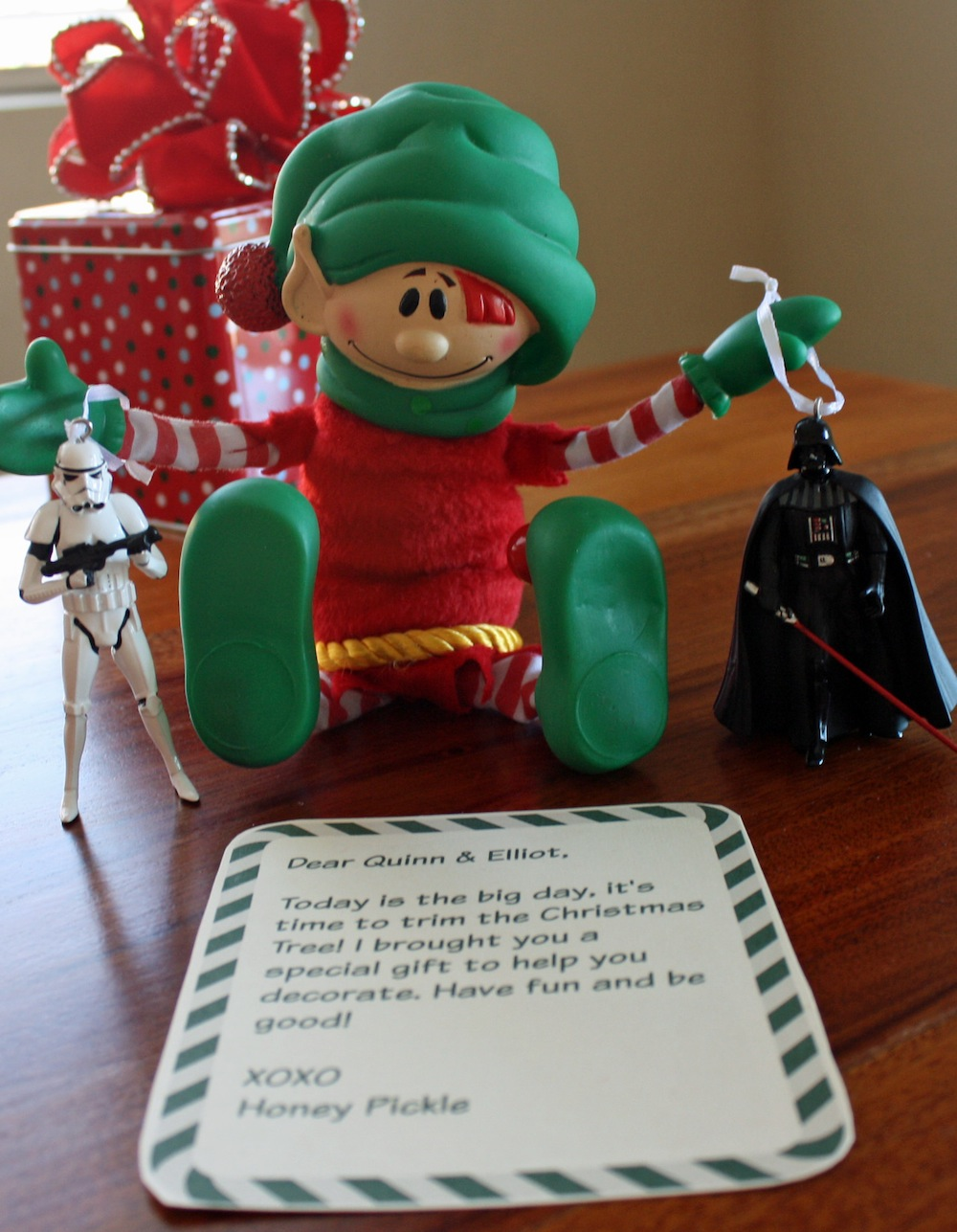 Elf meets the Dark Side Ornaments