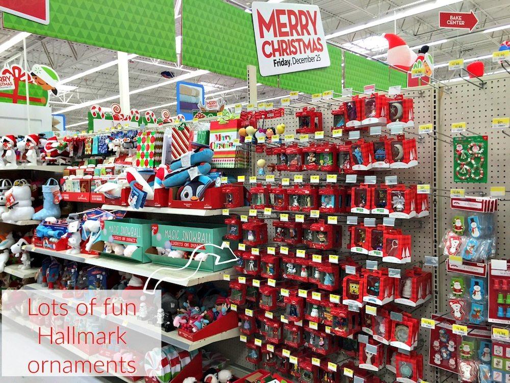 Hallmark Ornaments at Walmart