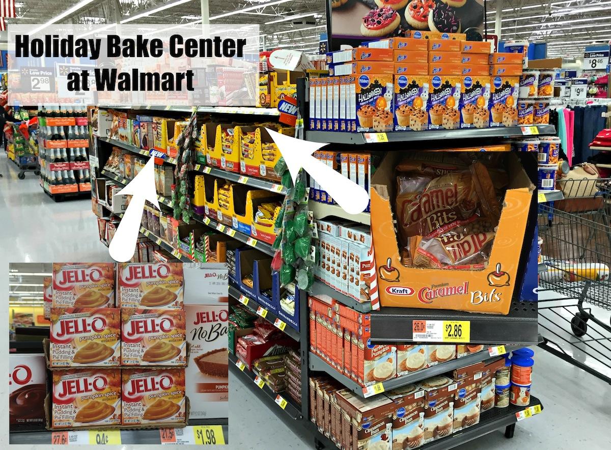 Holiday Bake Center at Walmart
