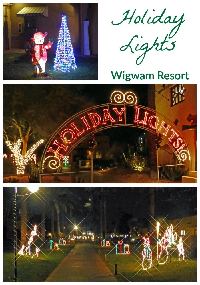 Holiday Nights in Lights Wigwam Resort