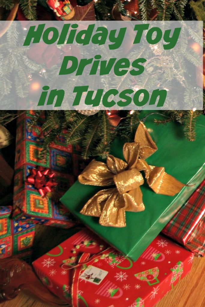 Please donate an extra toy this holiday season to help a child smile on Christmas. Check out this list of Tucson Toy Drives.