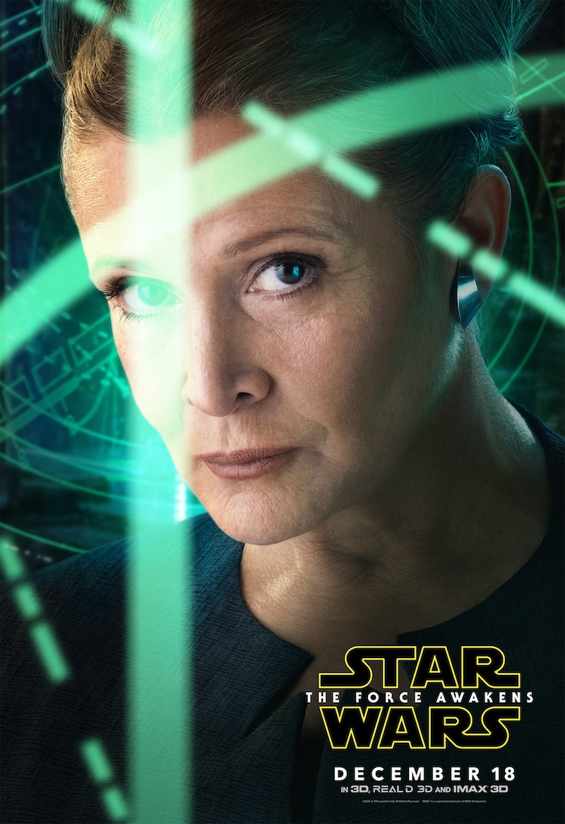 Leia character poster
