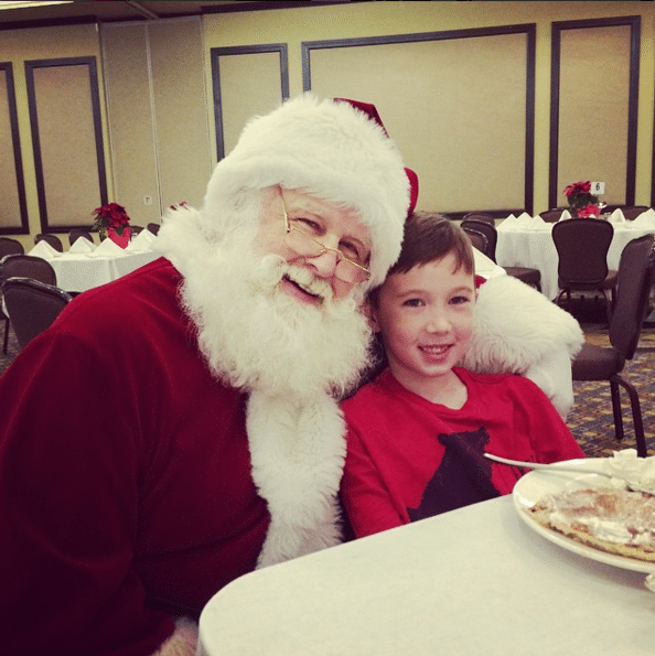 Santa Breakfast at Wigwam Resort