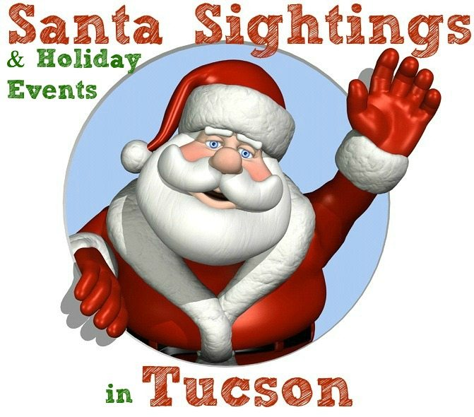 Santa and Holiday Events in Tucson