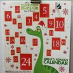 The Good Dinosaur Printable Advent Calendar