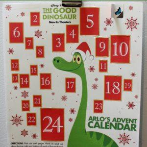 The Good Dinosaur Printable Advent Calendar