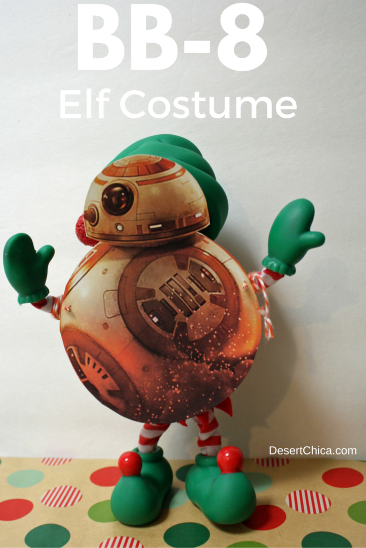 BB-8 Elf On The Shelf Costume