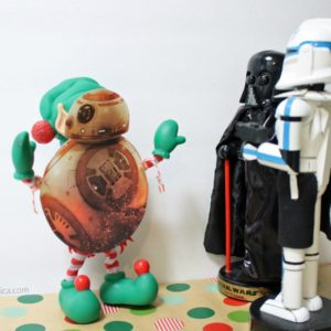 Printable BB-8 Costume For Your Elf