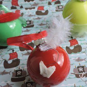 DIY Peter Pan Ornaments