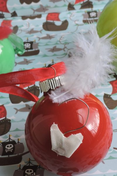 DIY Peter Pan Ornaments