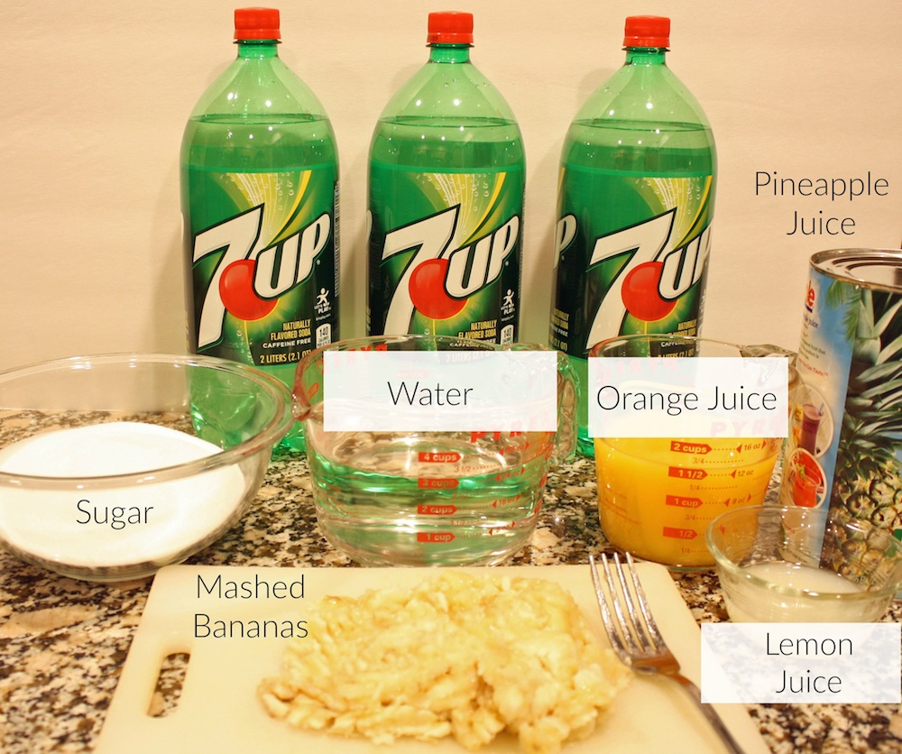 Fruit Punch Ingredients