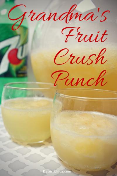 Grandma's Fruit Crush Punch