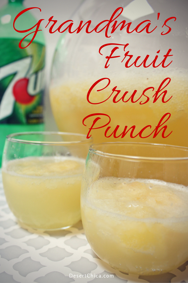 Grandma's Fruit Crush Punch