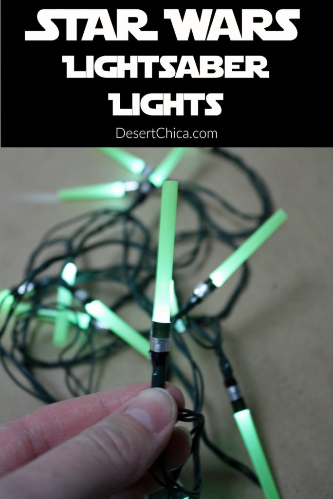 Make your own Light Saber Light set