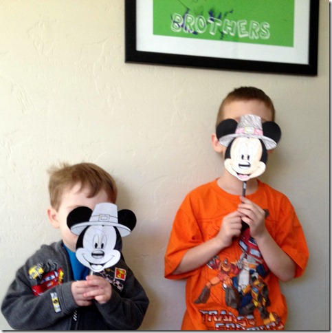 thanksgiving mickey mouse craft