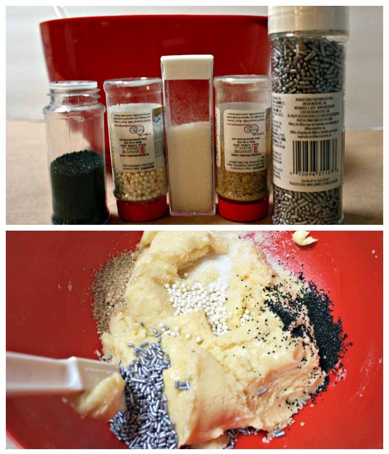 New year's Eve Sprinkle Cake mix cookie recipe