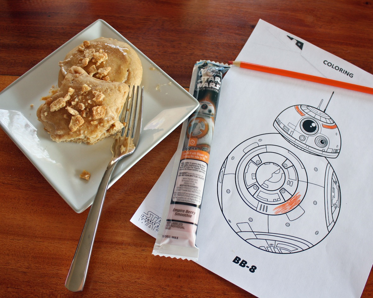 Star Wars Breakfast Idea Cinnamon Toast Crunch Pancakes