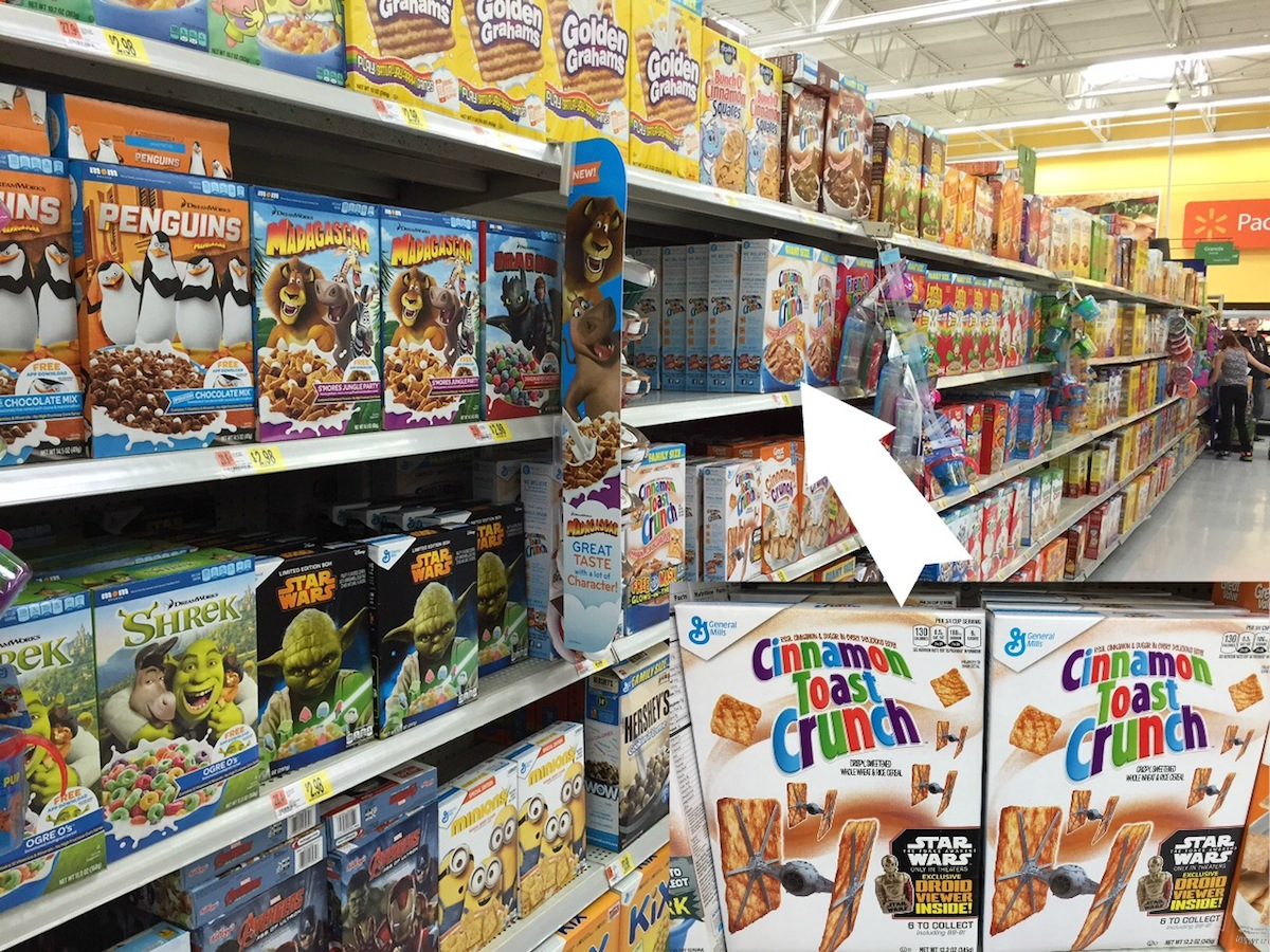 Star Wars Cinnamon Toast Crunch Cereal at Walmart