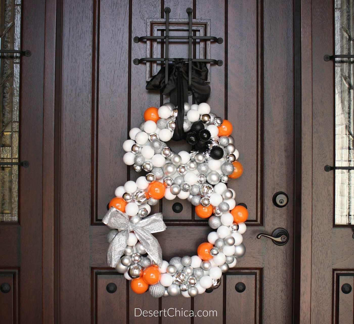 Star Wars Inspired BB-8 Wreath
