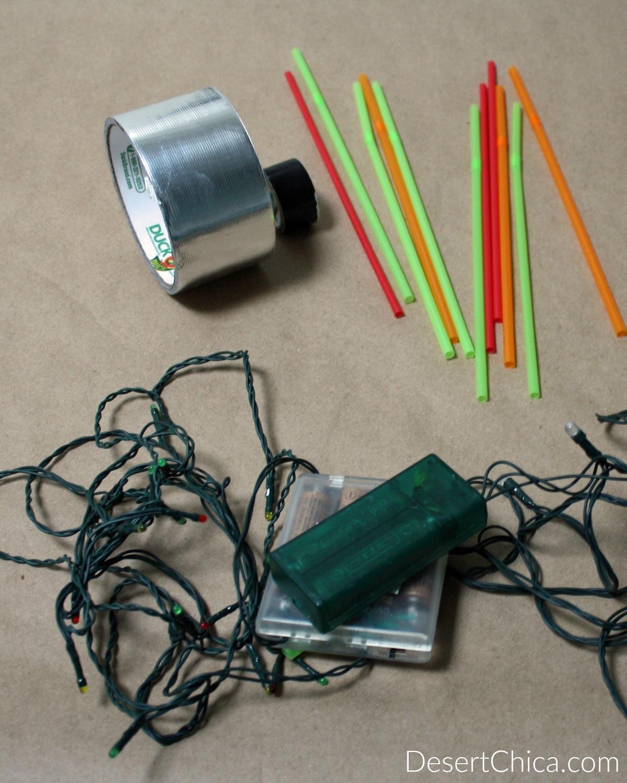 Star Wars Crafting Light Saber Christmas Light Supplies