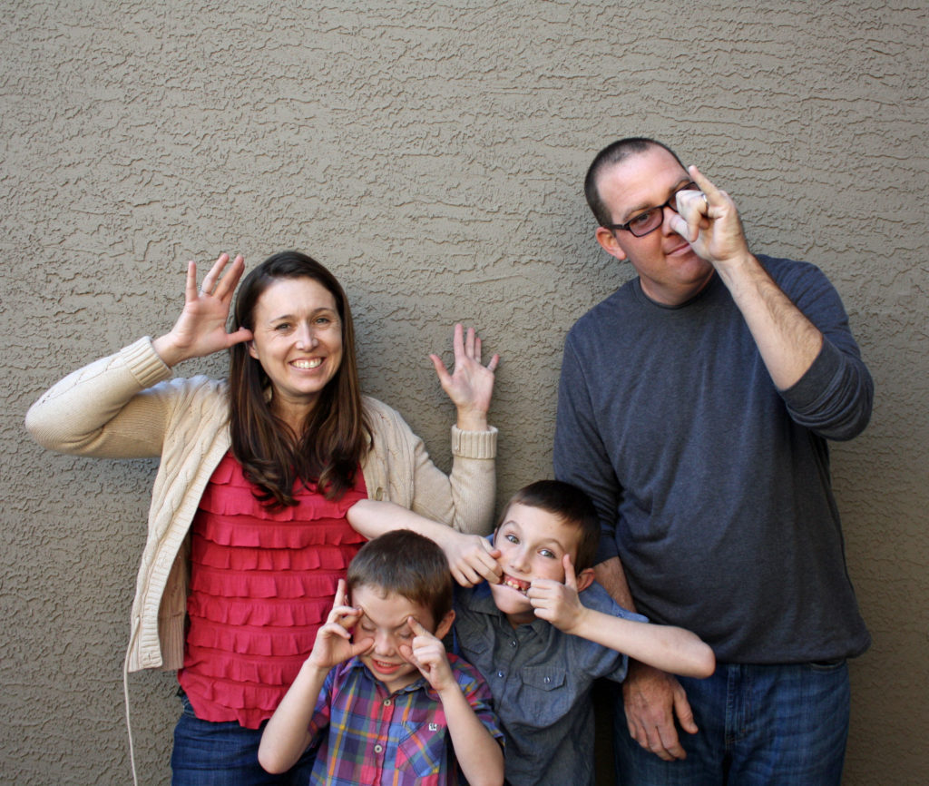 Silliness is how we family