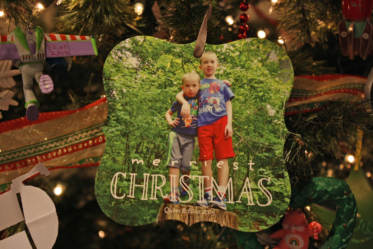 Tiny Prints Christmas Card Ornament