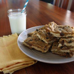 Turtle Cheesecake Cookie Bars