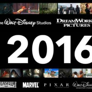 2016 Walt Disney Studios Film Schedule
